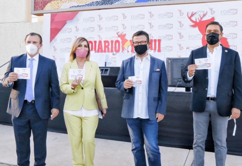 Candidatos de Sonora 2021 en Foro Perspectiva