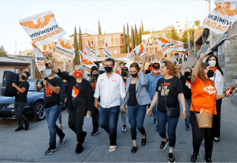 Ricardo Bours en Colonia Solidaridad Nogales