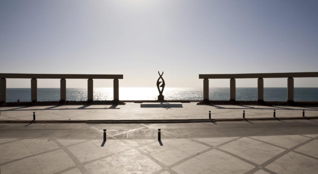 Malecón en Puerto Peñasco